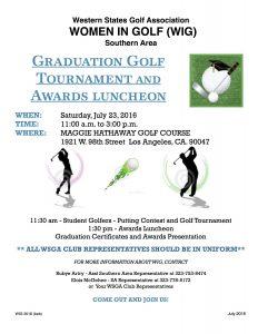 2016 WIG Graduation flyer